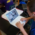 A high school biology student uses GoAnimate to illustrate his working knowledge of a lesson plan.