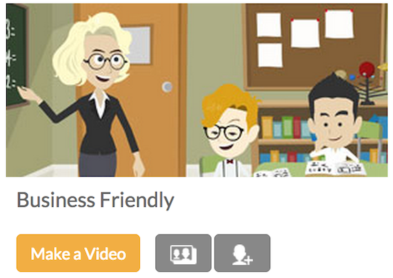 Site Update: Introducing Business Friendly in GoAnimate for ...