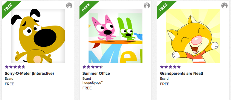 free greeting cards from hallmark